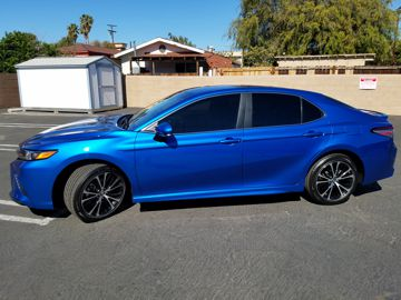 Blue Camry Window Tinting