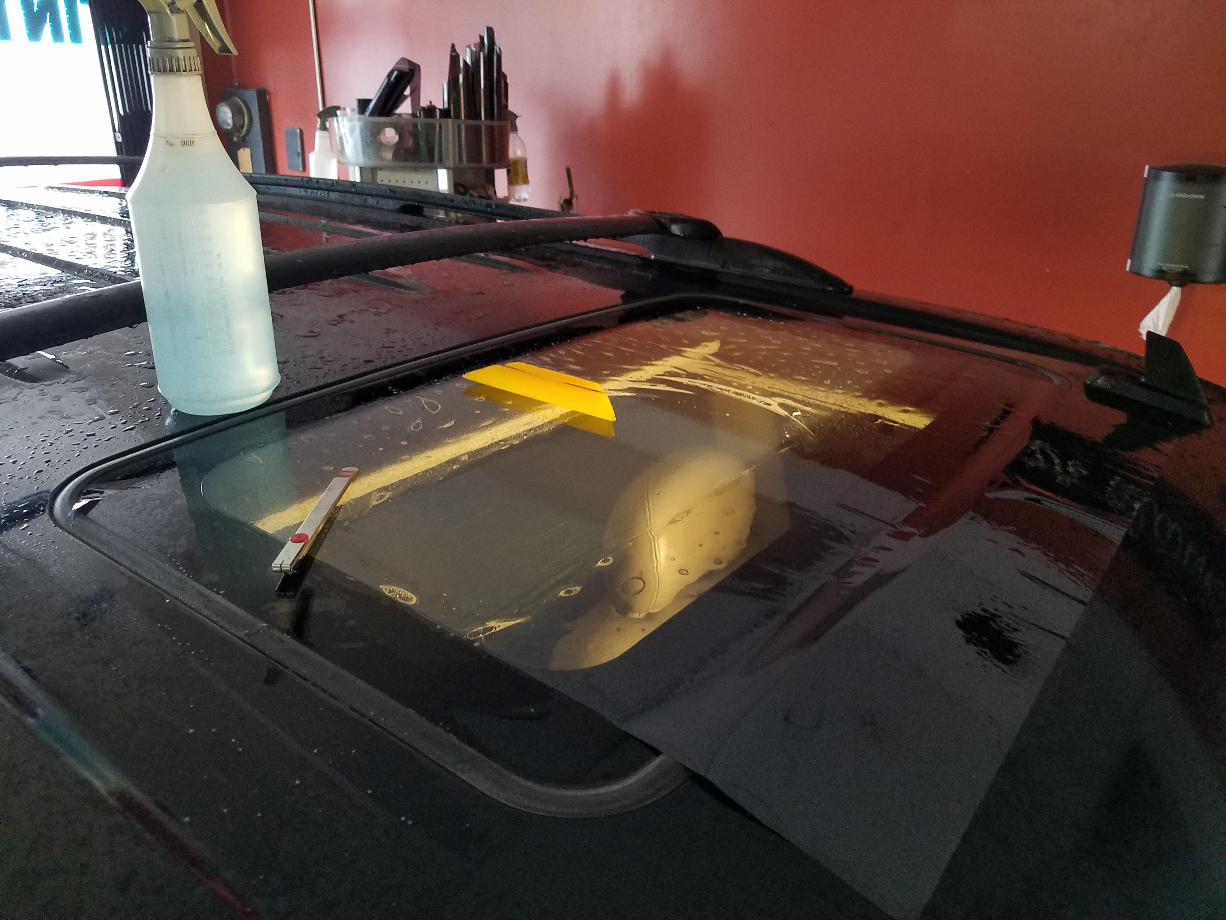 JJ Window Tint. Sunroof Tint.