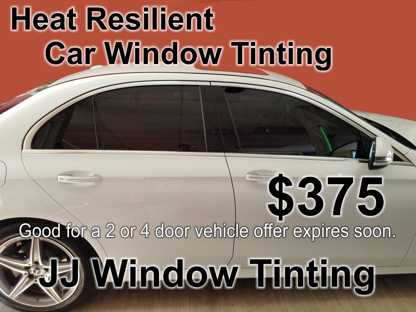 Heat Resilient Window Film JJ Window Tinting