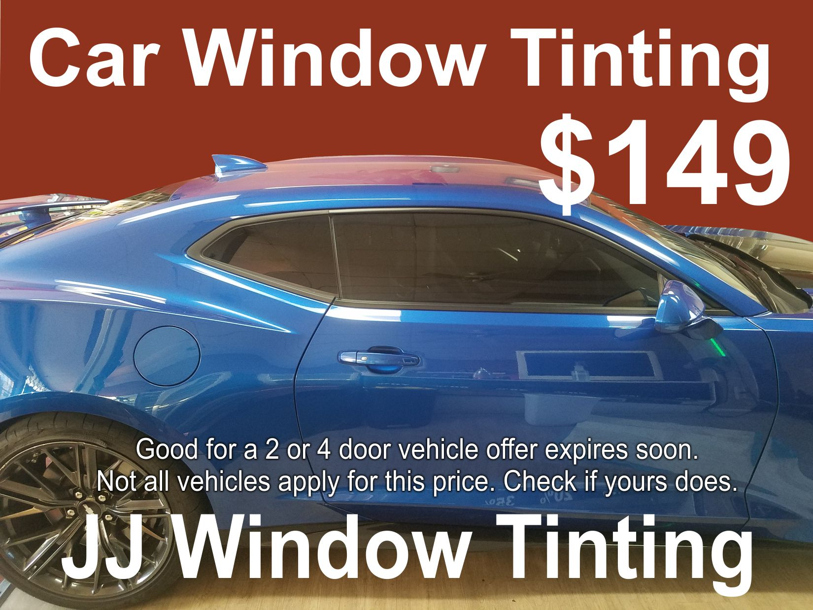 how much does it cost to tint car windows bmw
