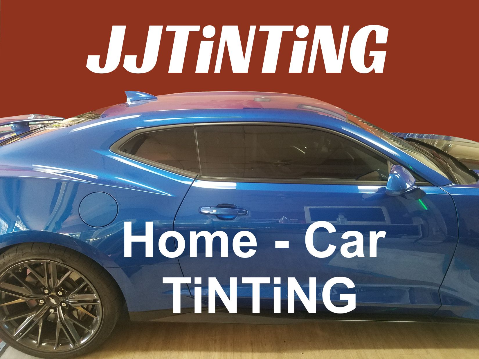Car window tinting. Film application on vehicles.
